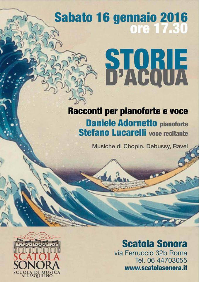 Concerto – Storie d'acqua