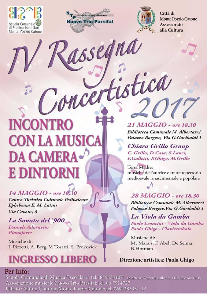 Concerto 14 maggio 2017
